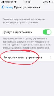 запись экрана со звуком iOS 12